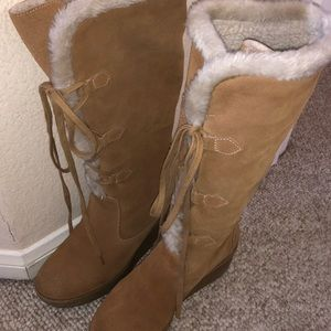Michael Kors Tan Winter Boots
